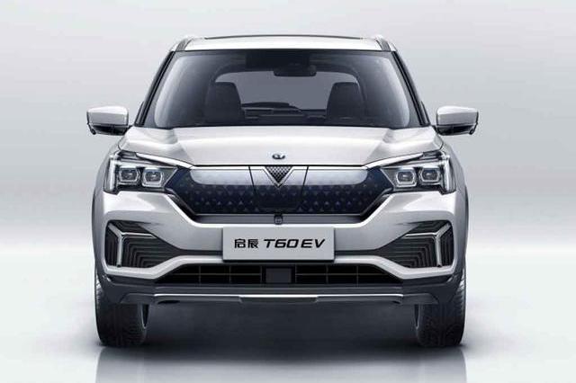 合资纯电动SUV新成员,启辰T60EV上市,补贴后售13.88万起