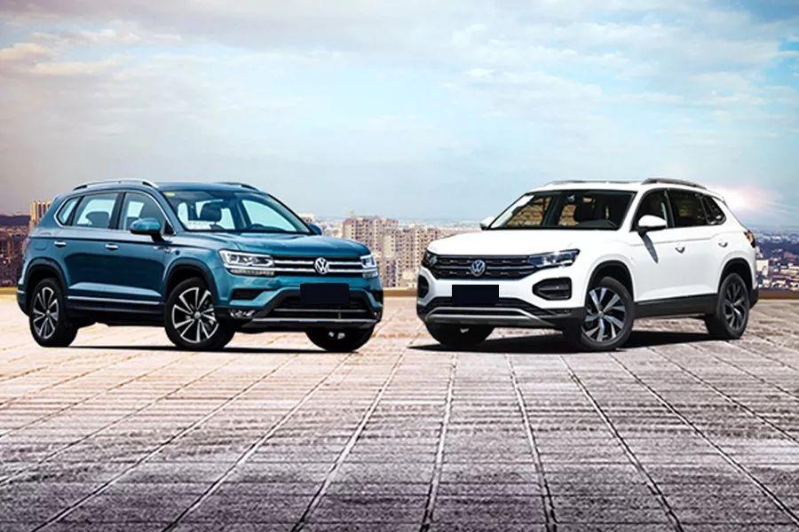 大众途岳对比大众探岳,2款20万左右的德系SUV怎么选?