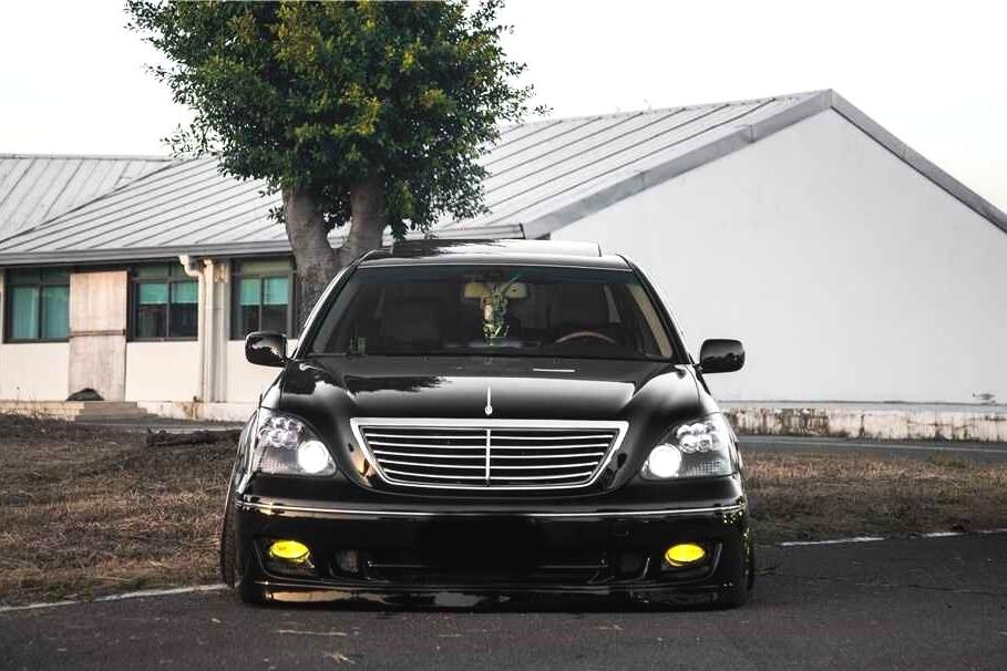 放弃皇冠入LS430,小县城的改装车奔走千里参加精品聚会