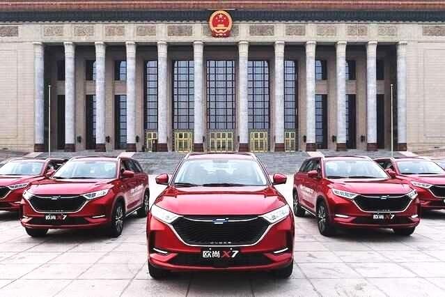 中国车的底气 需要像长安欧尚X7这样当红的喊出来