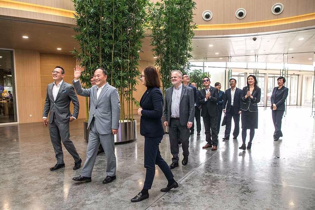 在中国,为世界!李书福为沃尔沃下一个十年划重点