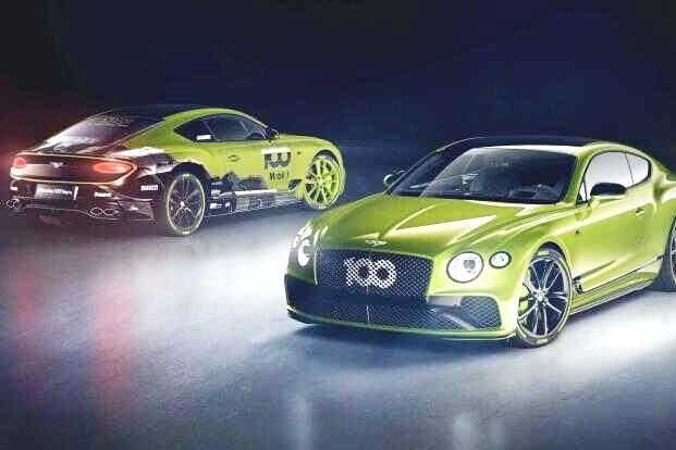 仅生产15辆,宾利欧陆GT特别版车型官图公布