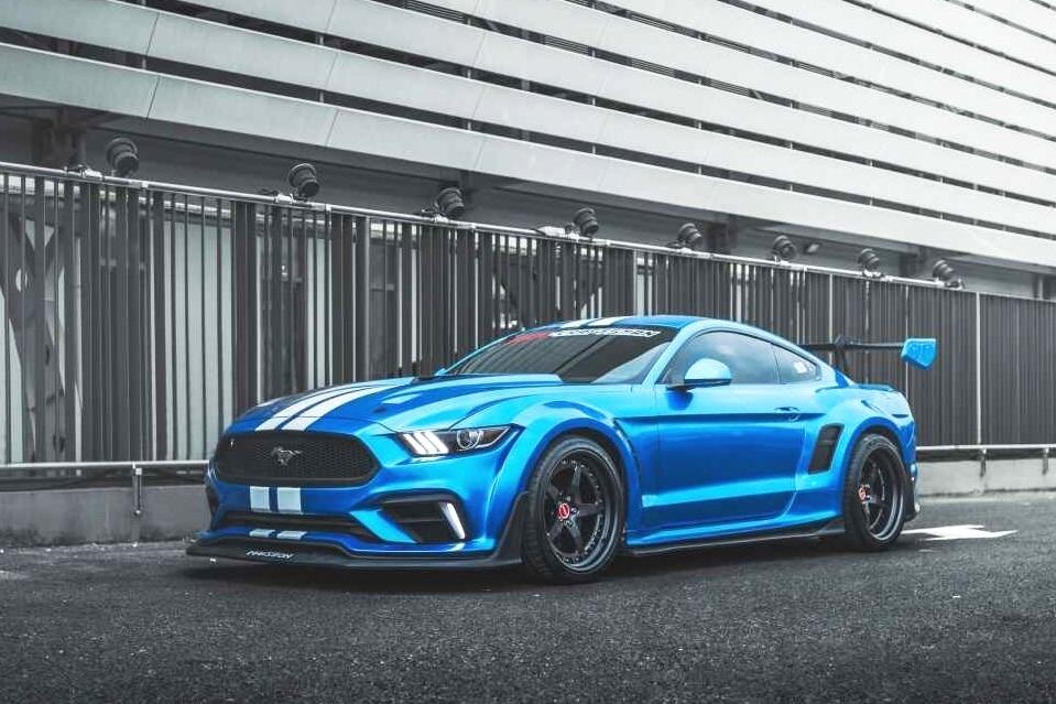 大排自吸V8才是梦想,宽体Mustang GT散发着猛男的力量感!