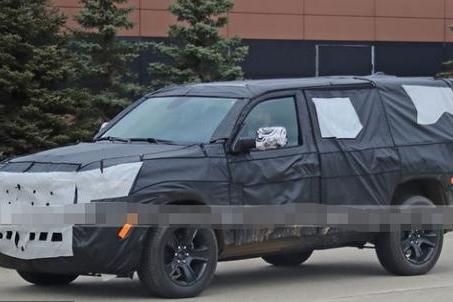 Jeep Wagoneer谍照曝光,预计明年年中正式亮相