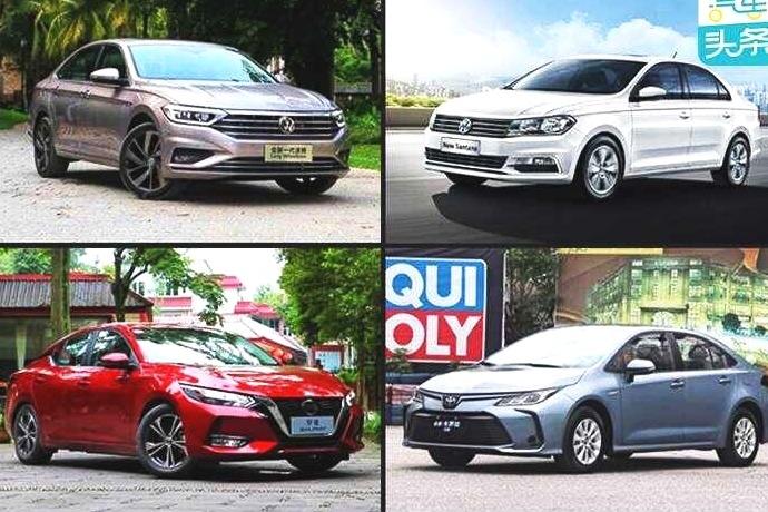 """年末轿车市场排位骤变,""""标杆""""桑塔纳重返销量TOP 10"""
