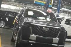 新款凯迪拉克凯雷德实车曝光 新车将于2020年亮相
