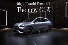 更敦实的一次大变 全新一代梅赛德斯-奔驰 GLA级正式亮相