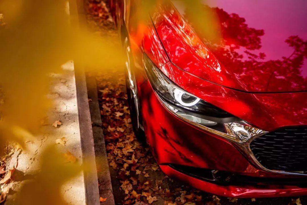 次世代MAZDA3昂克赛拉,以惊艳质美树立A+级轿车审美标杆
