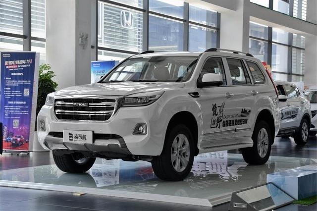 中国品牌也有硬派车 小哥带你看哈弗H9
