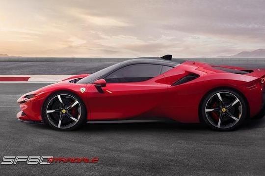 全面解析法拉利首款量产插电式混合动力超跑SF90 Stradale