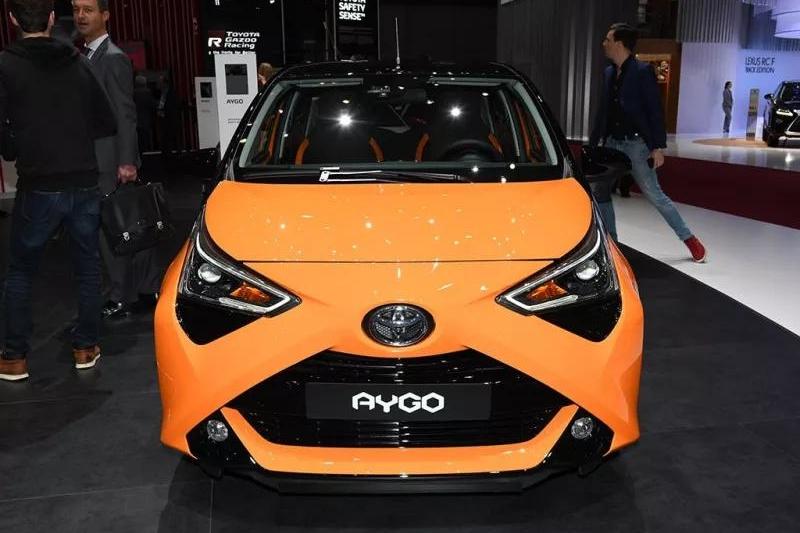 通勤利器!丰田AYGO超低油耗+4万起售,你心动了么?