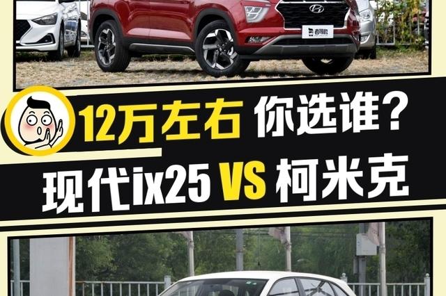 合资小型SUV怎么选 北京现代ix25 VS 柯米克