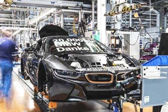第20万辆产品正式下线 宝马i8将于2020年4月停产