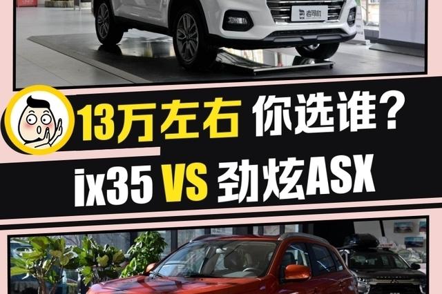 韩系日系紧凑型SUV的比拼 北京现代ix35 VS 劲炫ASX
