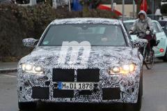 新一代宝马M3动力大涨 配6速手动/明年上半年发布