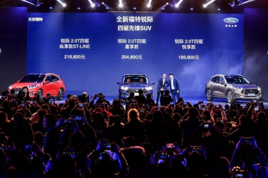 标配四驱,驾控强于竞品,18.98万起售的锐际带领福特打响反攻战