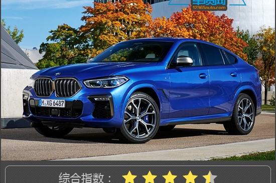 新车产品力指数:全新一代宝马X6