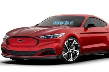 电动版来袭 福特Mustang纯电跑车假想图曝光