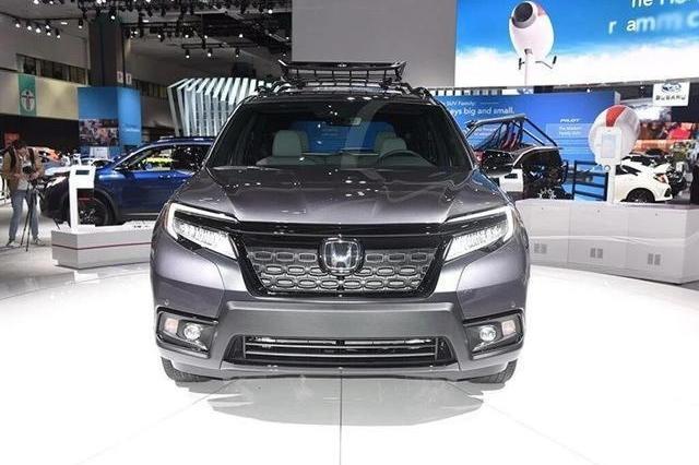 本田最新款SUV,整部车野性十足,为越野而生