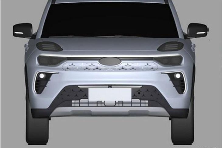 溜背造型设计 奇瑞最新电动SUV专利图 全铝车身结构