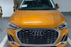 豪华品牌最便宜的国产轿跑SUV 奥迪国产Q3 Sportback无伪谍照