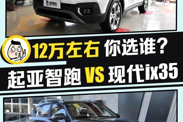 韩系紧凑型SUV之战 起亚智跑 VS 现代ix35