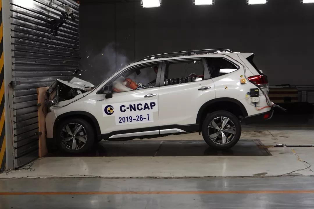 C-NCAP试验结果:野马博骏获2星,多款车型获5星