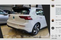 新一代大众高尔夫GTI无伪图曝光 预计将于日内瓦车展亮相