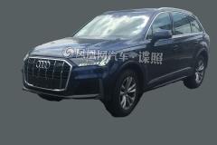 新款奥迪Q7 PHEV车型曝光 有望于年底正式推出