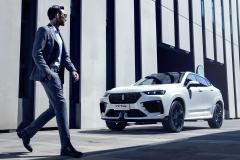 VV7 GT brabus|automotive首发亮相 彰显豪华轿跑SUV运动风范