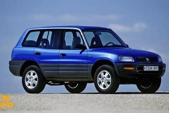 丰田RAV4的进化史都在这里了,喜欢的看过来