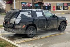 Jeep全新一代大切诺基谍照 将采用三排布局