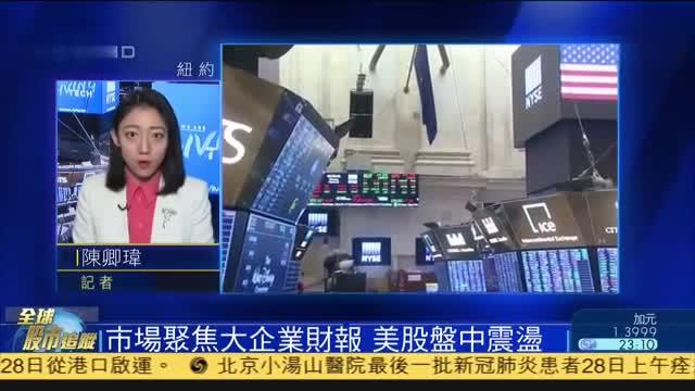 美股开盘,市场聚焦大企业财报,美股盘中震荡