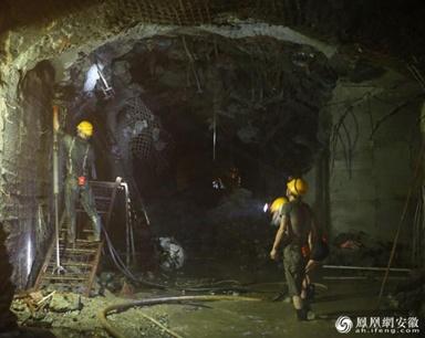 探寻地下960米铜矿开采