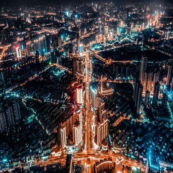 鳳瞰合肥 迷彩之夜