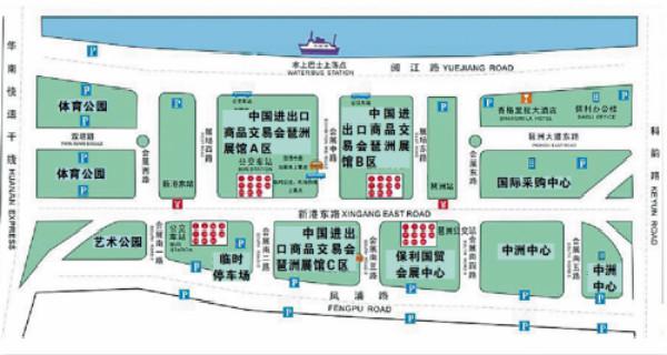 广交会即将开幕 展馆区域设2条公交临时专线
