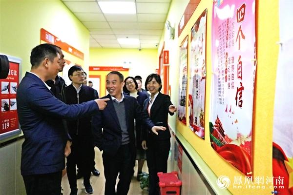 郑州市教育局有关领导调研大山外