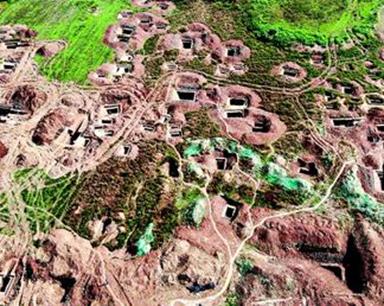 襄阳发现保存完好的东周墓葬群