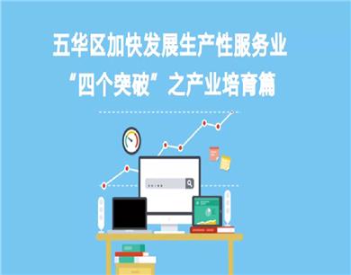 """五华区加快发展生产性服务业 """"四个突破"""" 之产业培育篇"""