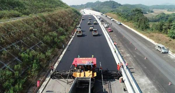 惠清高速进入沥青混凝土路面施工阶段 计划2020年通车