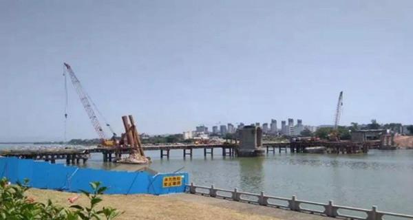 加快推进重建 河源东江大桥新桥力争2020年底前通车