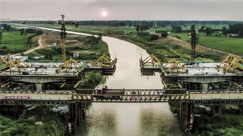 61白塔河一级公路桥