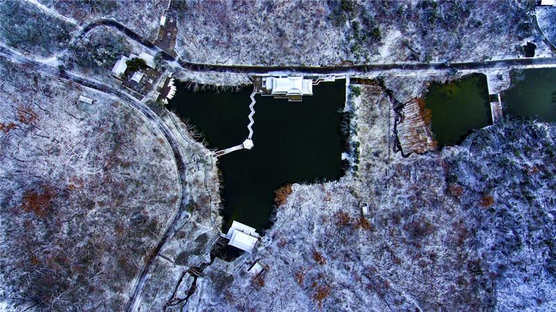 121冬日深秀湖