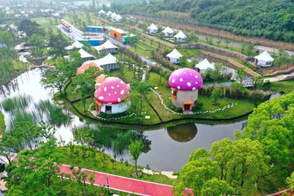 暑假旅游新去处长三角旅游度假胜地武进太湖湾露营谷!