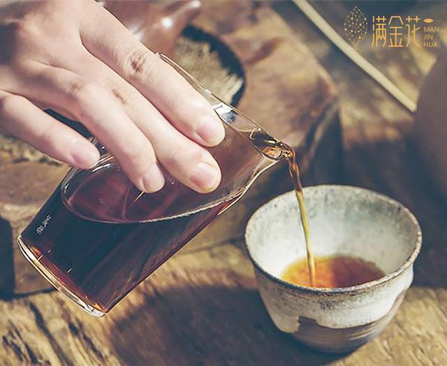 满金花茯茶|茯茶作为黑茶中的一种你了解多少?