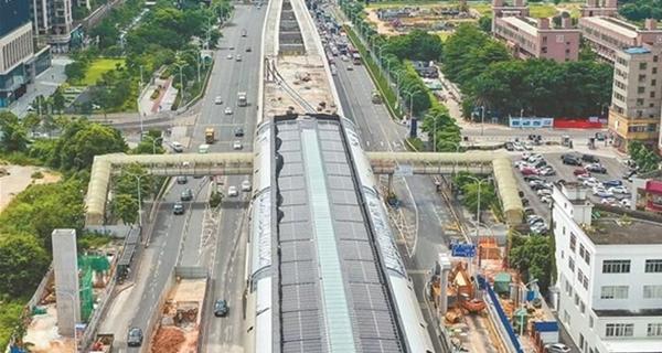"""深圳地铁6号线明年5月开通试运营 可直达光明""""class="""