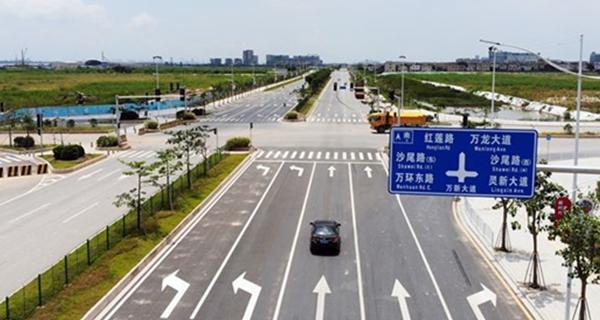 广州:南沙万新大道二涌至十一涌全线通车