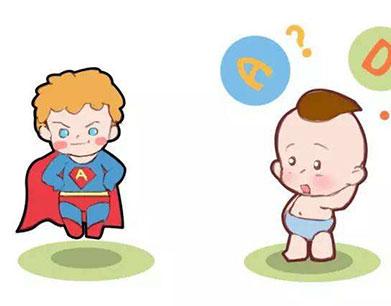 大部分婴幼儿无需补AD