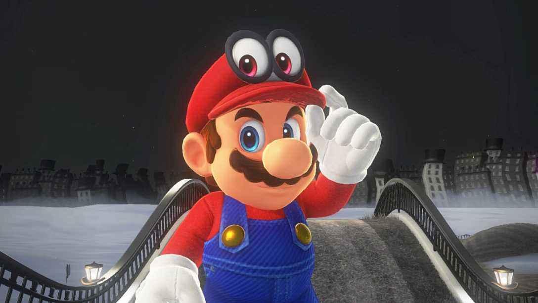 有才!玩家模改《马里奥奥德赛》 马里奥被剃掉了胡须