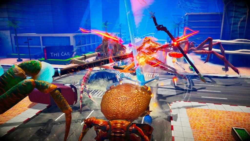 硬梆梆的来了 《螃蟹大战》抢先体验版登场